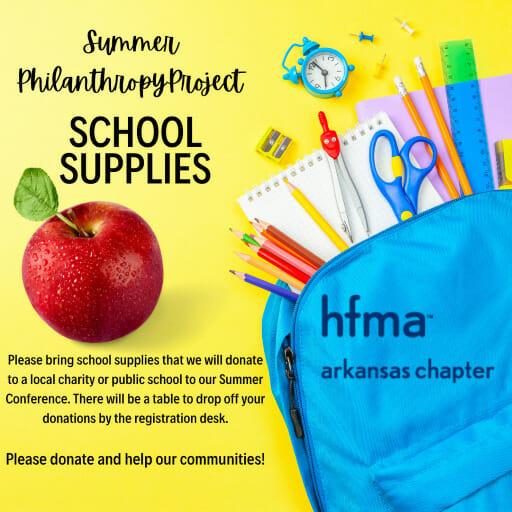 Summer School Supplies project image